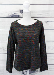 Ladies Fine-Knitted Dotted Jumper - more colours available