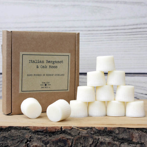 Italian Bergamot and Oakmoss Eco-friendly Soy Wax Melts