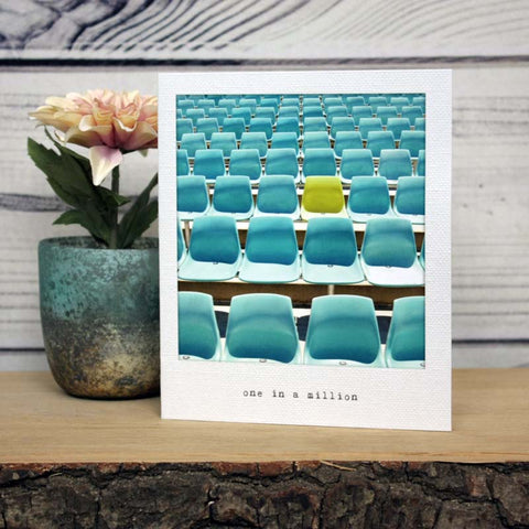 Incidental Instants Greeting Card - One In A Million
