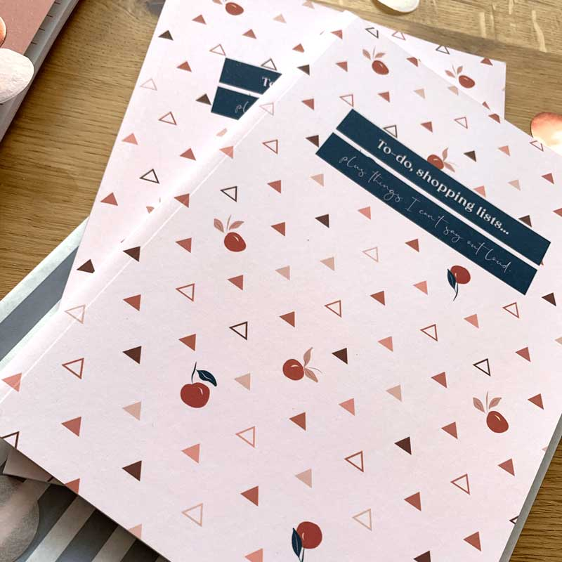 A5 Luxury Peachy Notebook