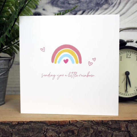 Little Rainbow Card