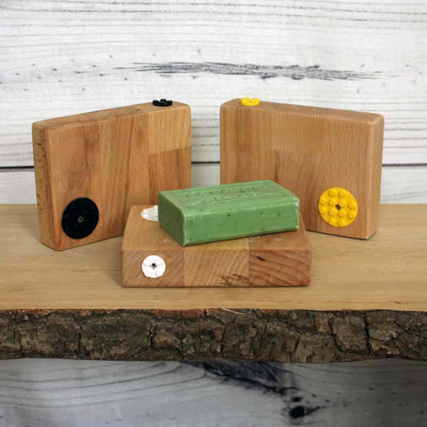 Beech and Lego Soap Block