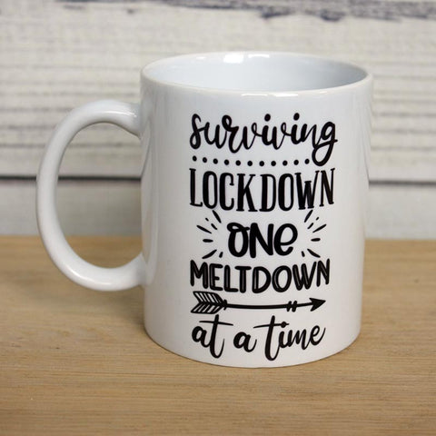 'Surviving Lockdown' Mug