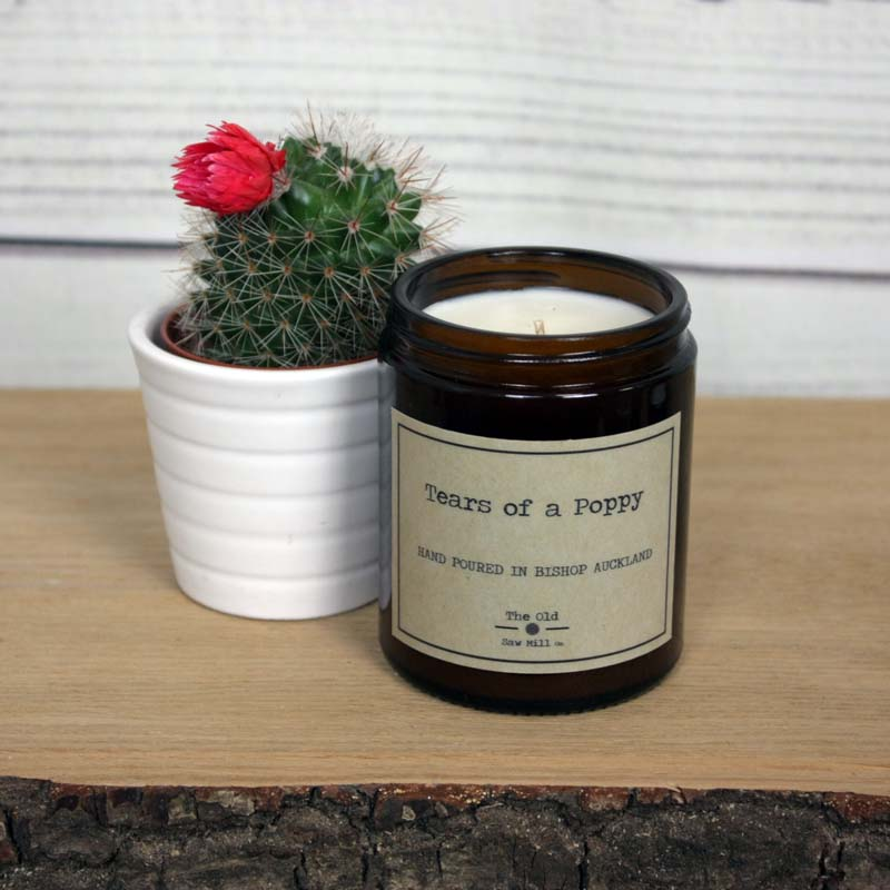 Tears of a Poppy Eco-friendly Soy Wax Candle