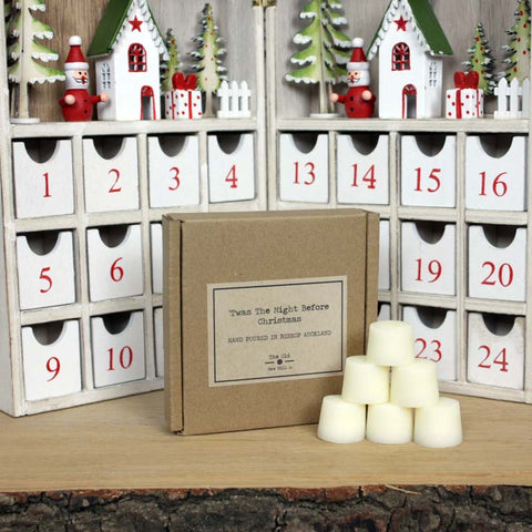 'T'was the Night Before Christmas Soy Wax Melts - Box of 12