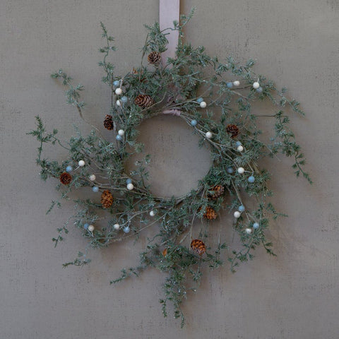 Winter Wonderland Wispy Wreath