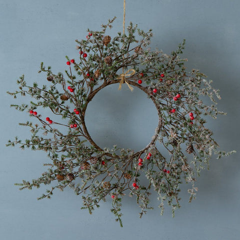 Winter Red Berry Wreath