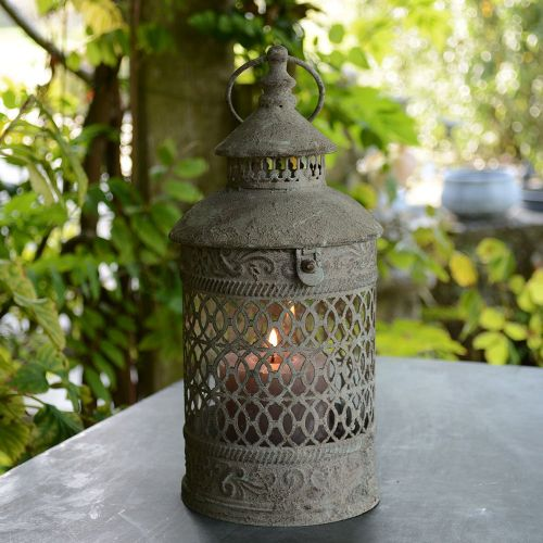 Athena Lantern with Glass