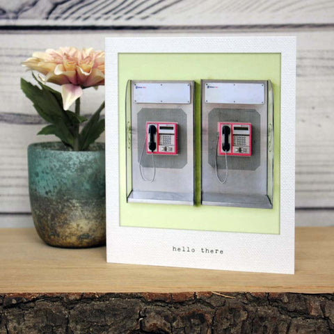 Incidental Instants Greeting Card - Hello There