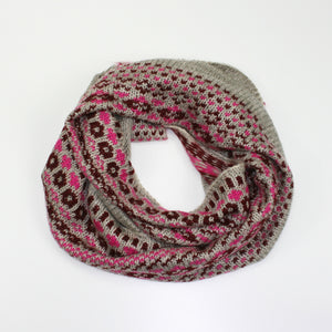 Kylie Chunky Knit Infinity Scarf - more colours available