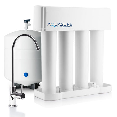 aquasure premier reverse osmosis water filtration system for home