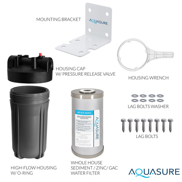 best selling whole house water filter