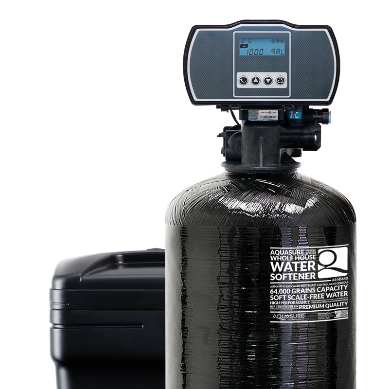 Harmony Series Whole House Water Softener | 64,000 GRAINS - AS-HS64D
