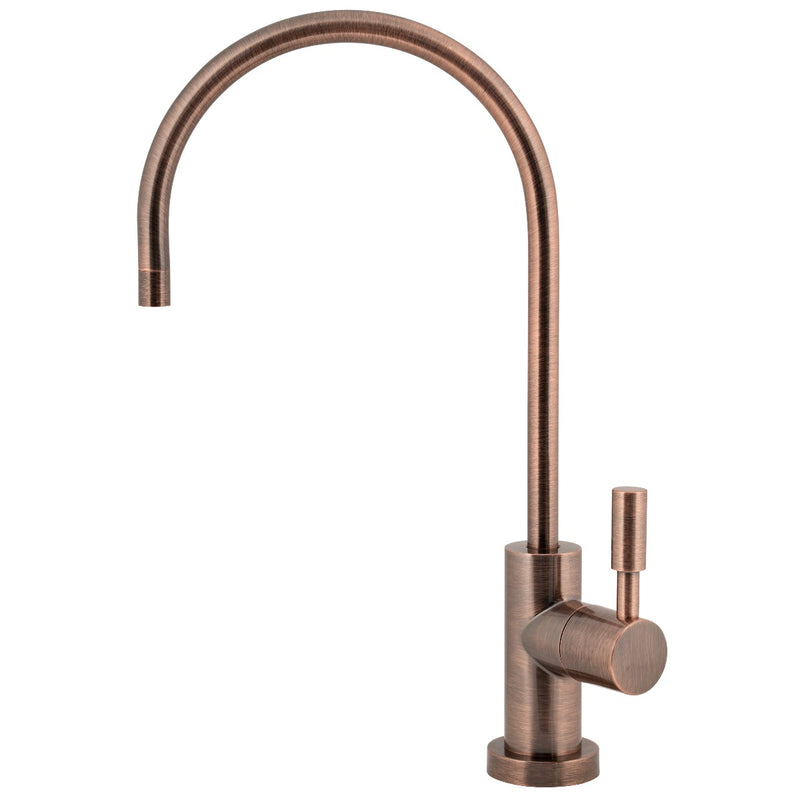 Designer Series 25 | Lead Free Ceramic Disk Faucet - Antique Wine