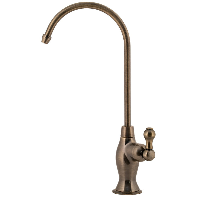 Designer Series 32 | Lead Free Ceramic Disk Faucet -  Antique Brass