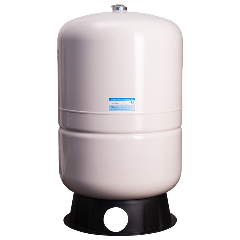 PAE 40-Gallon Capacity Pre-Pressurized Water Storage Tank - White
