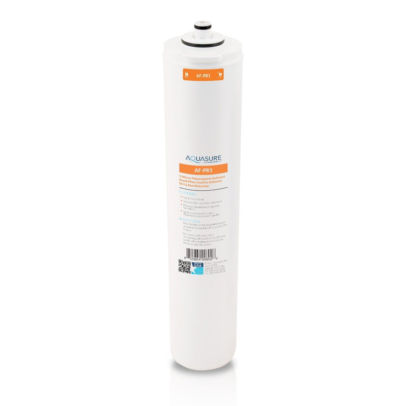 Aquasure premier Aquasure Premier Series 1st Stage Quick Twist 5 Micron Sediment Filter for Aquasure reverse osmosis systems