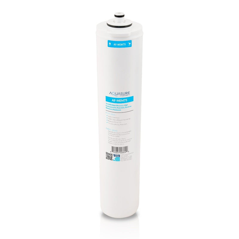 Premier Series | 3rd Stage 75 GPD Quick Twist Reverse Osmosis Water System Membrane-Aquasure USA