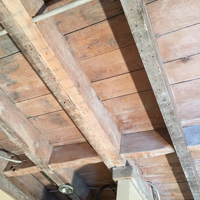 Kitchen Ceiling Open Rafter