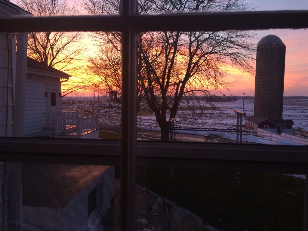 Sunset from the nook