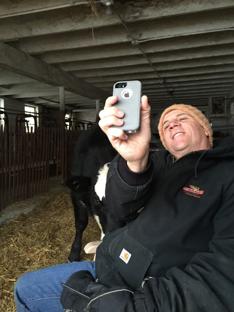 anthony selfie with patsy