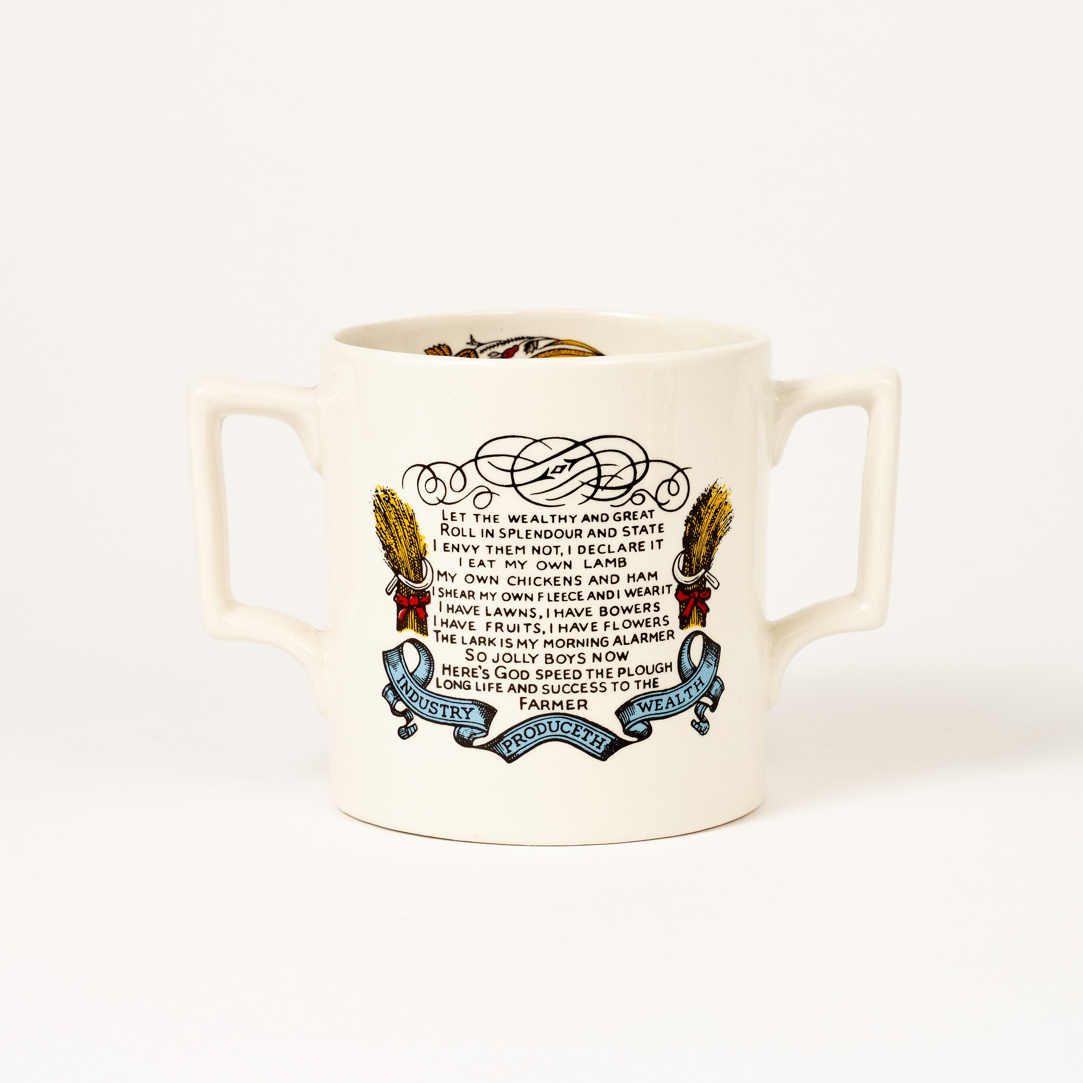 God Speed The Plough Loving Cup