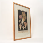 Botanical Print of Fungus Specimans  - Framed