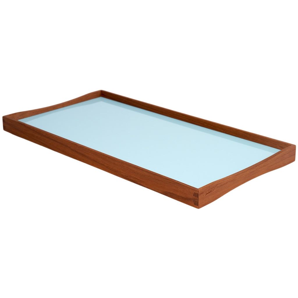 Small Tray - Black/Angel Blue