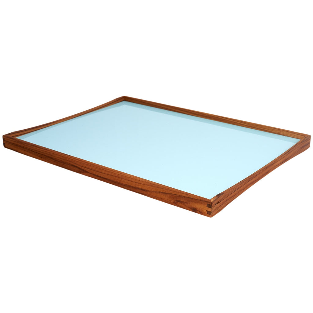 Large Tray - Black/Angel Blue