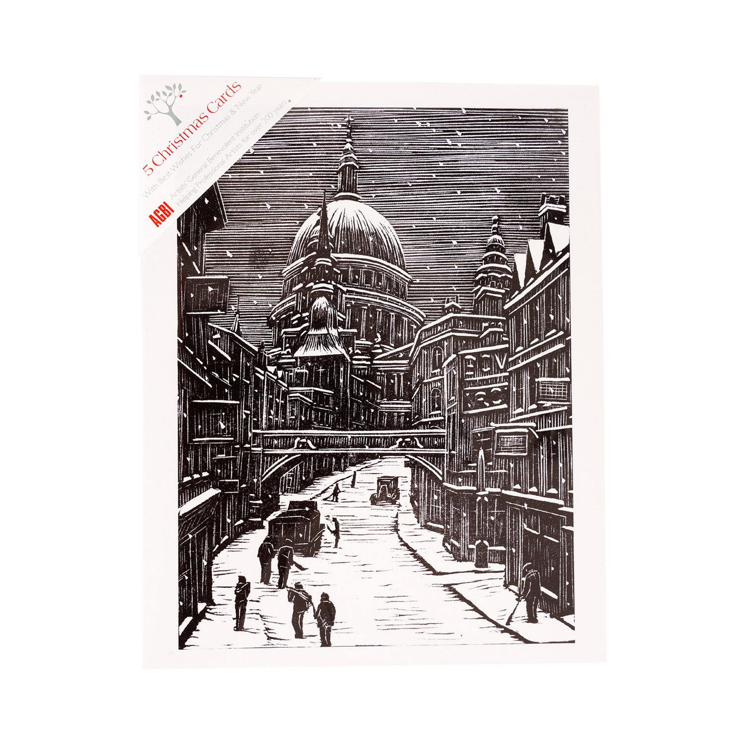 London Snow - Pack of 5 Christmas Cards