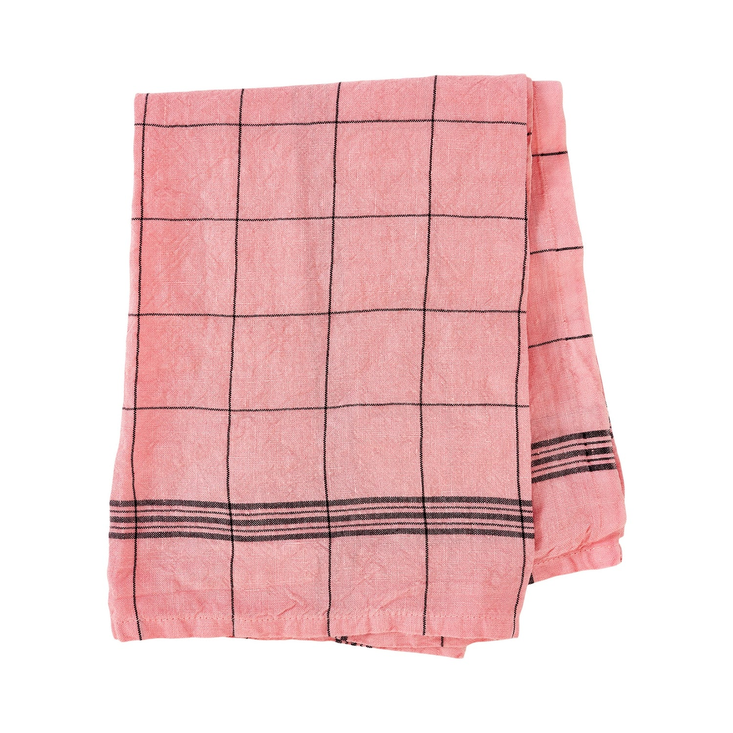 Bistro Tea Towel - Pink