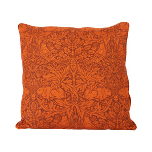 Brer Rabbit Cushion - Burnt Orange
