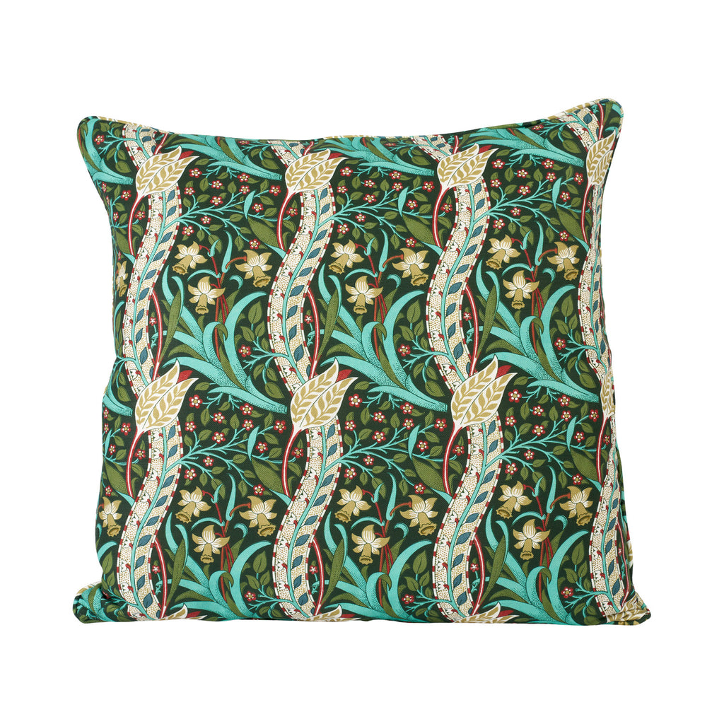 Daffodil Cushion - Dark Olive