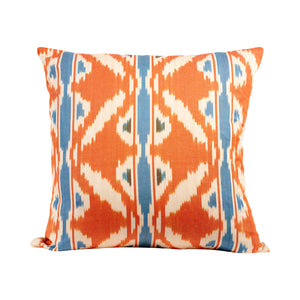 Cotton Ikat Cushion 50cm x 50cm