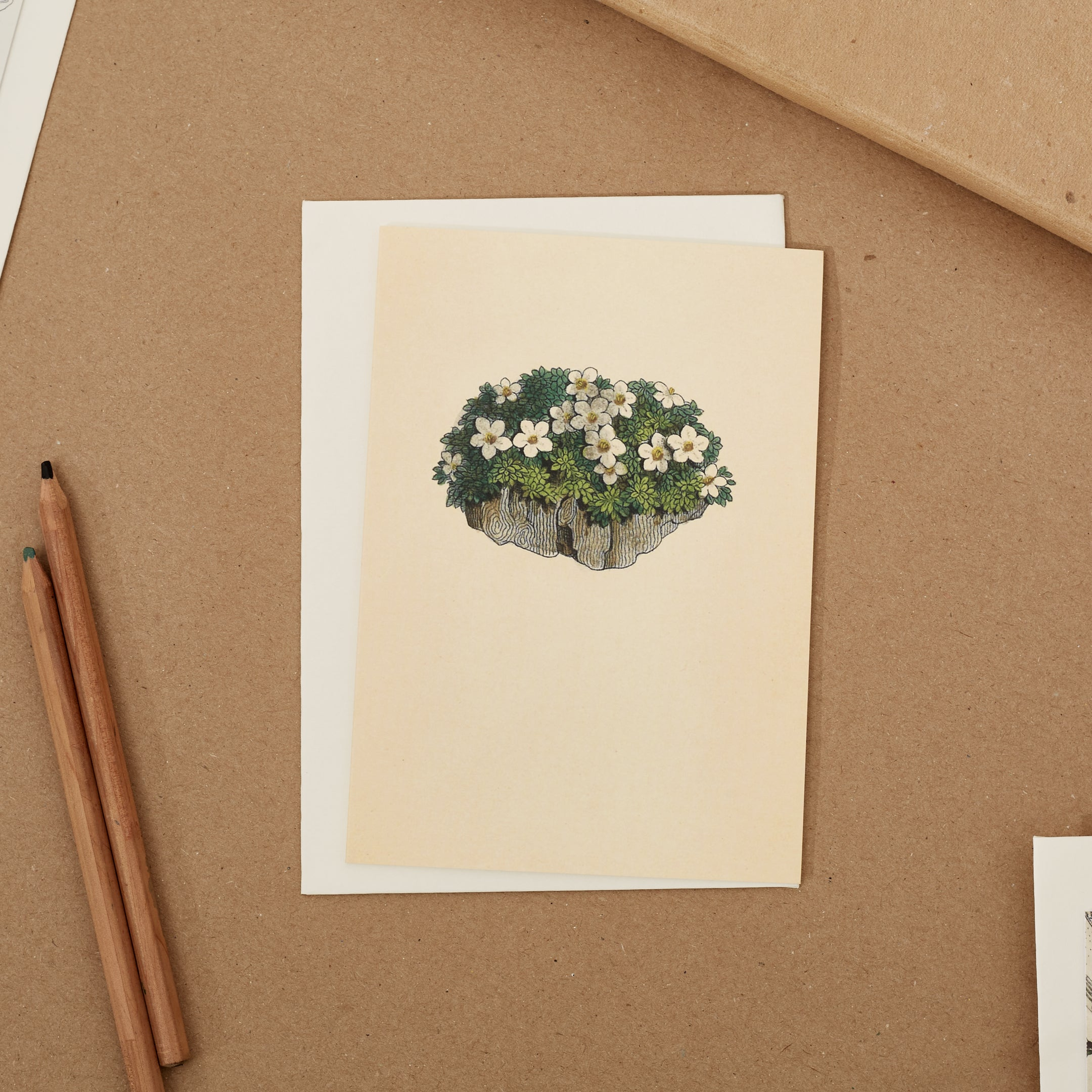 Rock Jasmine - Greeting Card