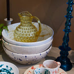 Hobnail Pitcher - Beryl