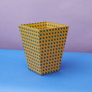 Waste Paper Bin - Venetian Diamond