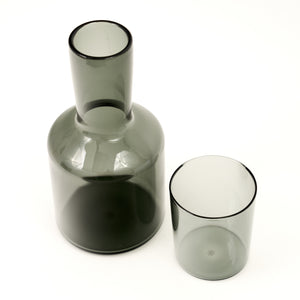 Carafe & Glass - Smoke