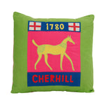 Chalk Figure Cushion - Cherhill White Horse