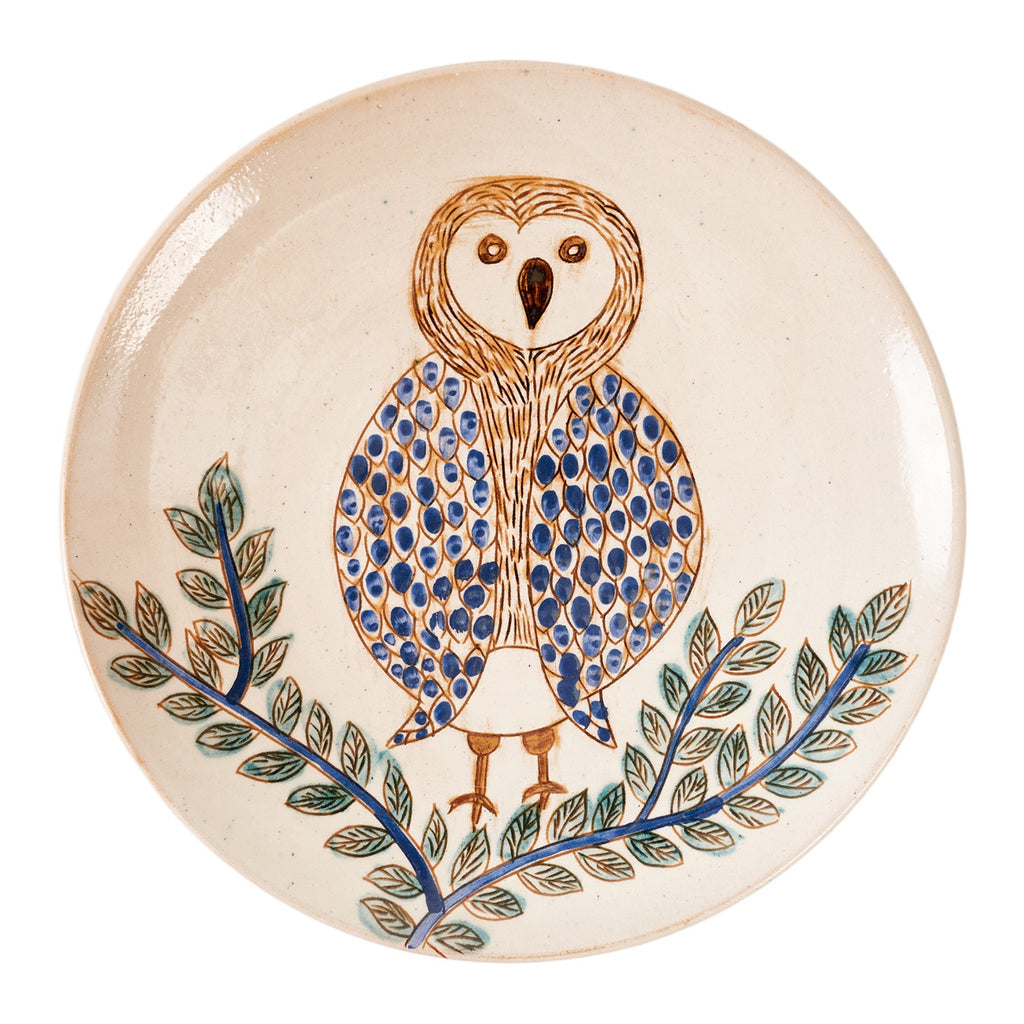 Branches & Owl Platter