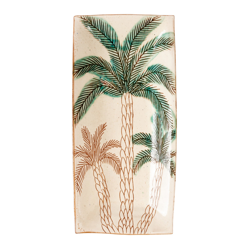 Date Palm Serving Dish