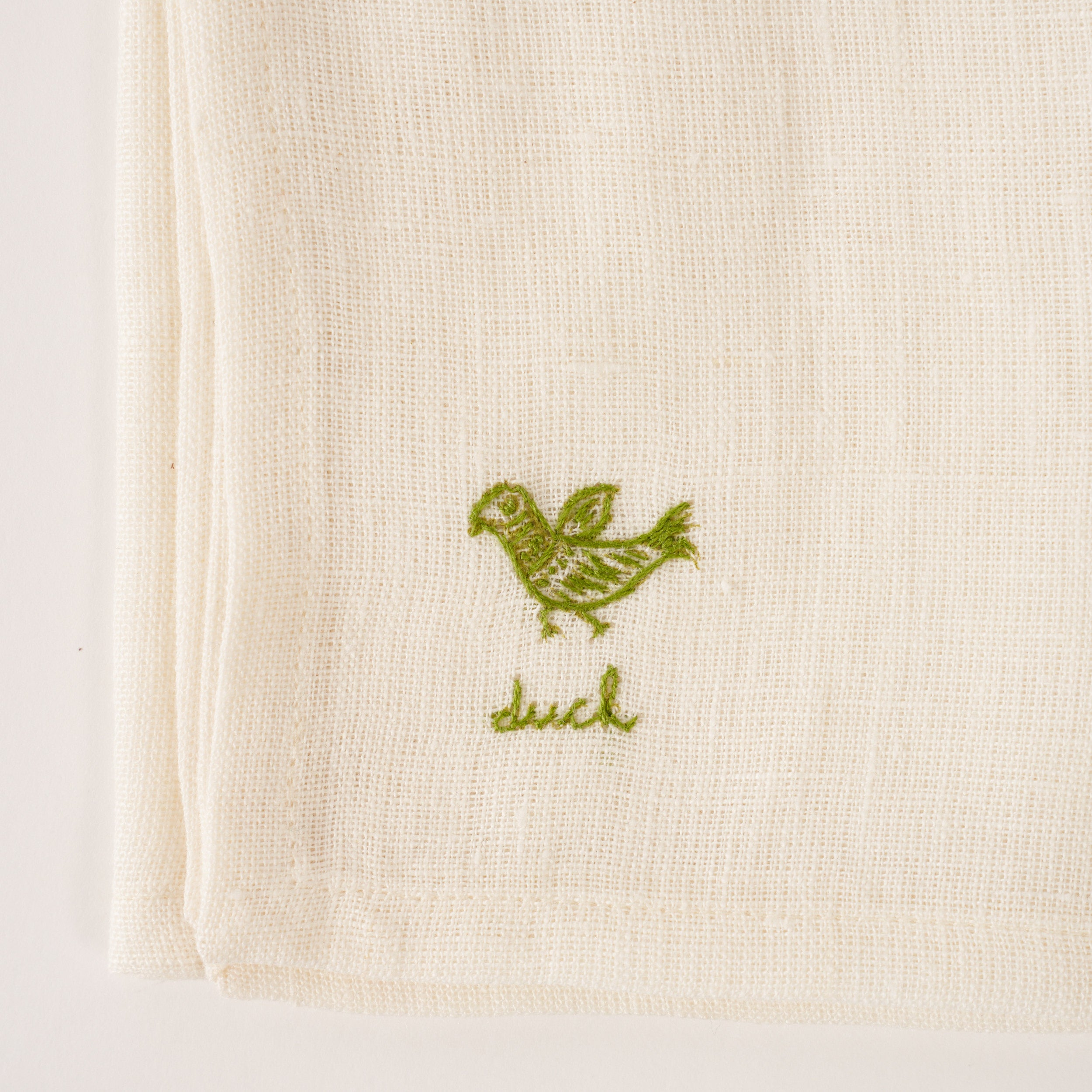 Duck Napkin - Green