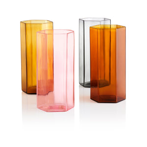 Coucou Tall Glass - Pink