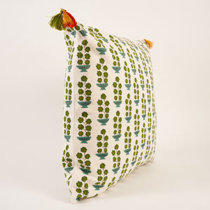 Jardiniere Cushion - Green