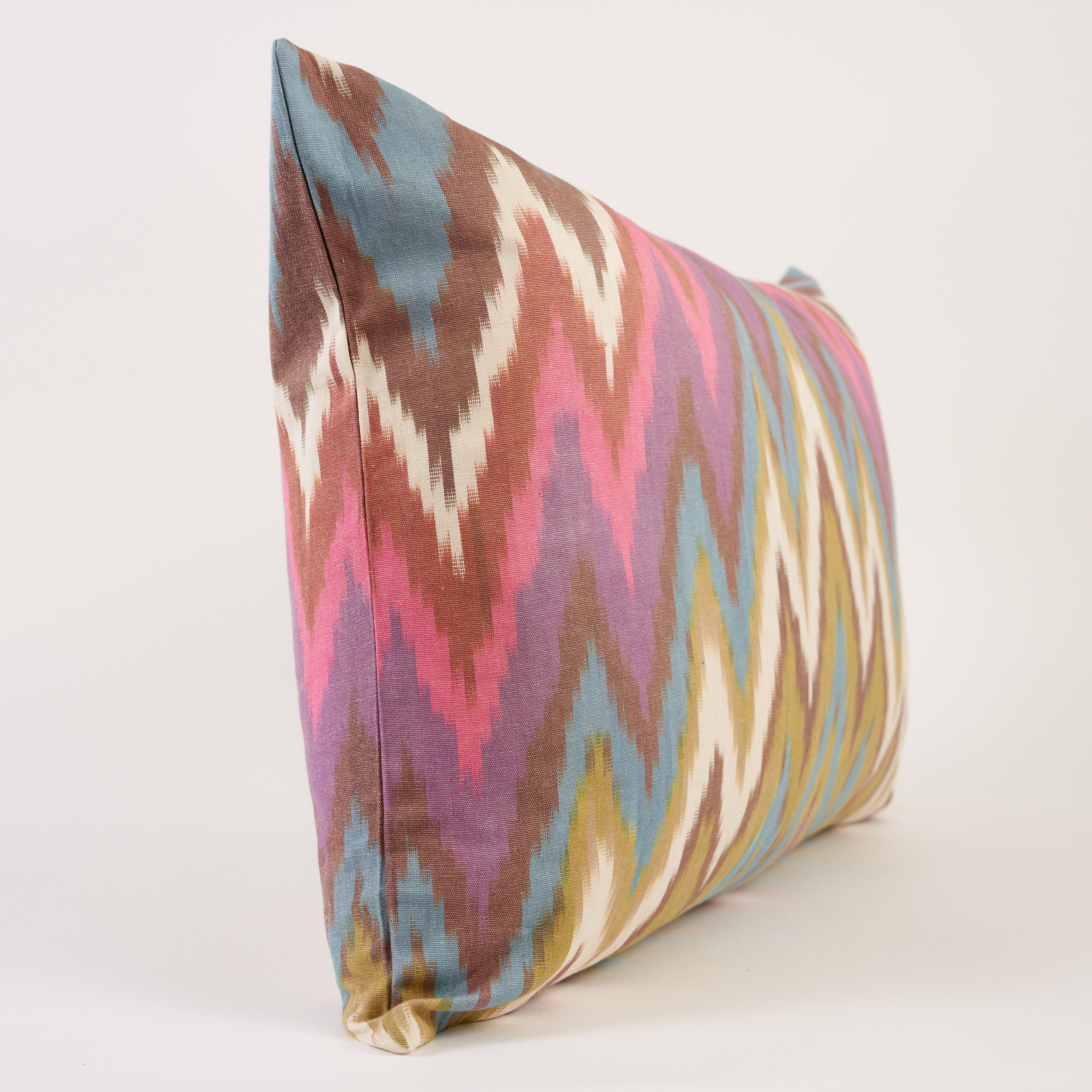 Cotton Ikat Cushion 40cm x 60cm