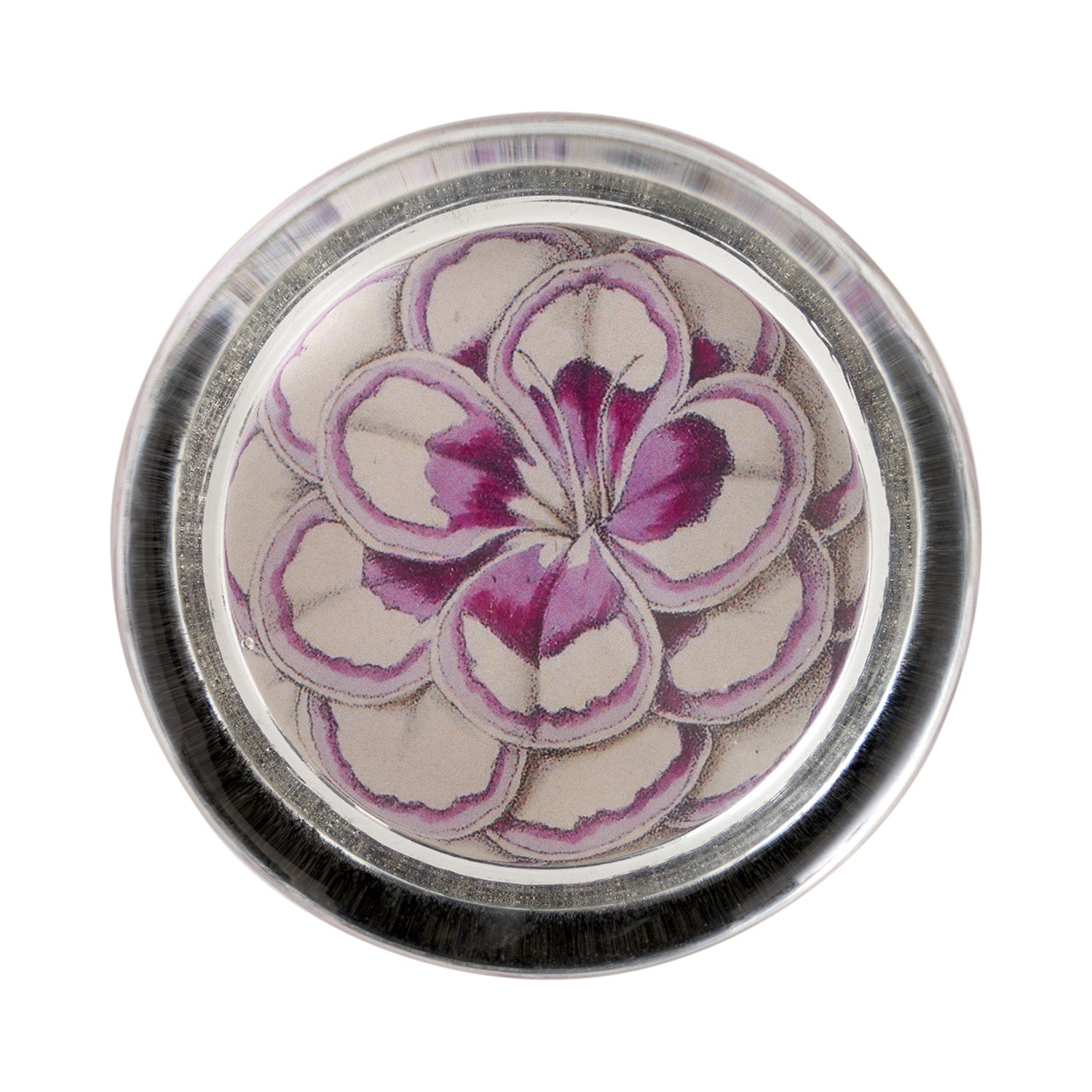 Floral Paperweight - Lilac