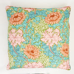 Chrysanthemum Cushion - Sky/Summer