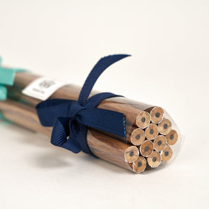 Pitch Pine Paper Wrapped Pencils - Set of 12