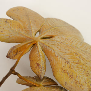 Horse Chestnut Double Leaf - Brown