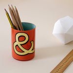 Alphabet Brush Pot - C